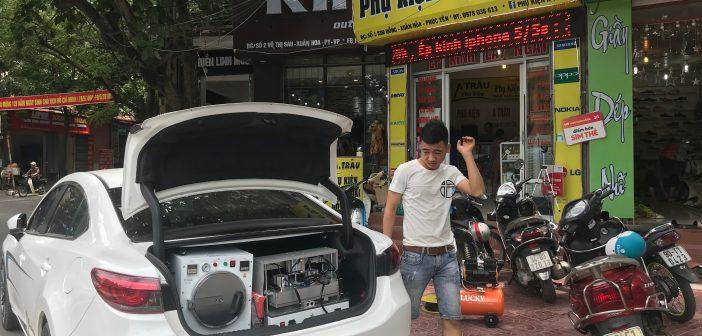Bộ máy ép kính điện thoại tự động nhập khẩu chân không giá rẻ 2018
